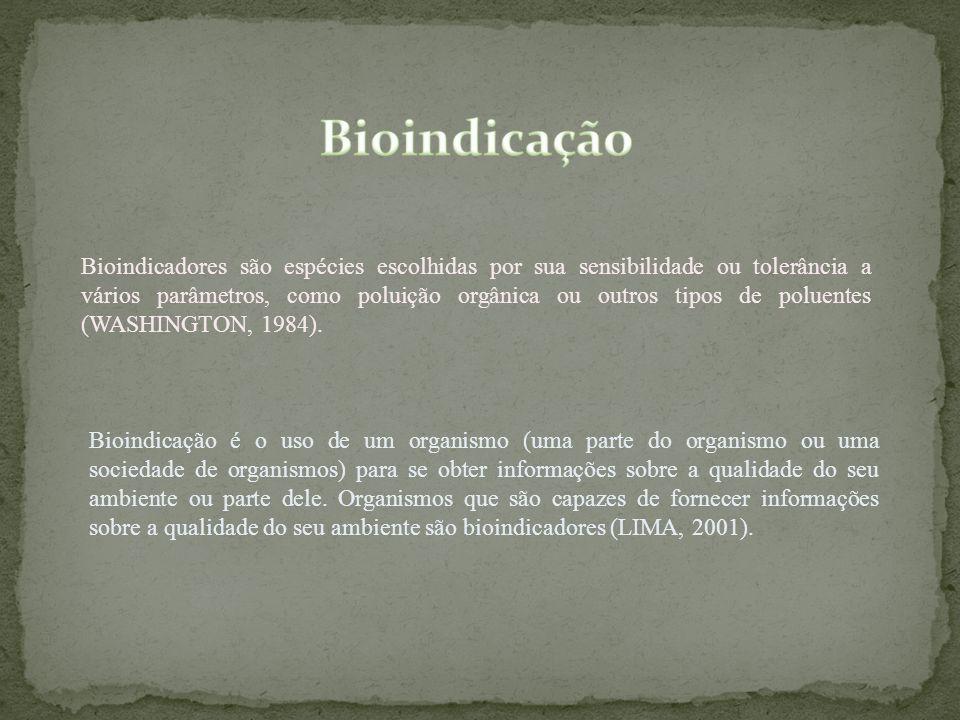 Bioindicação é o uso de um organismo (uma parte do organismo ou uma sociedade de organismos) para se obter informações sobre a qualidade do seu ambien