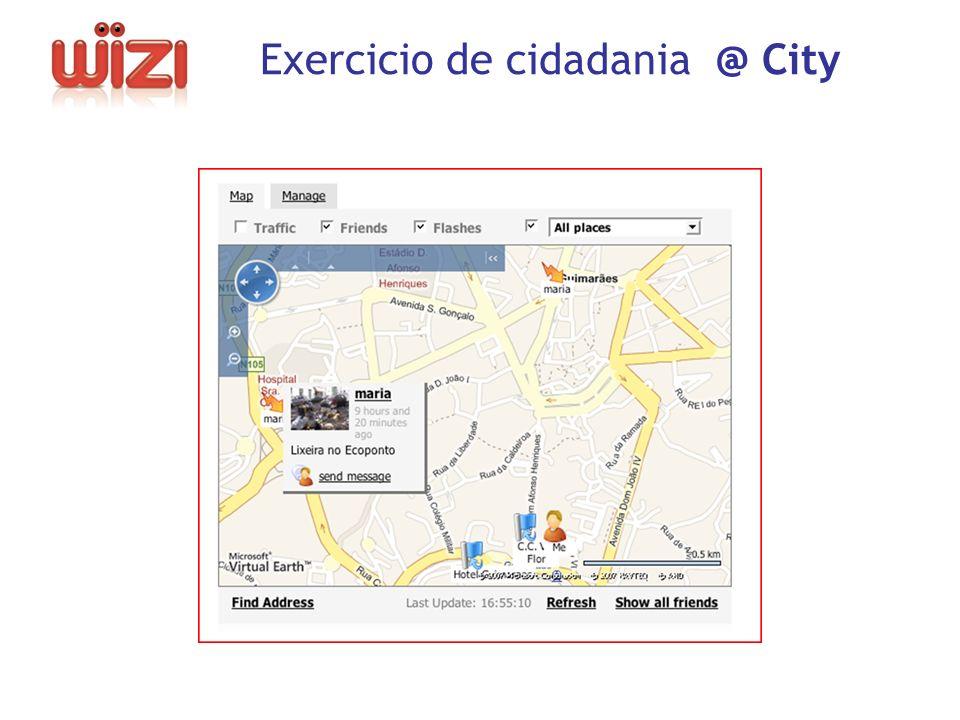 - Exercicio de cidadania @ City