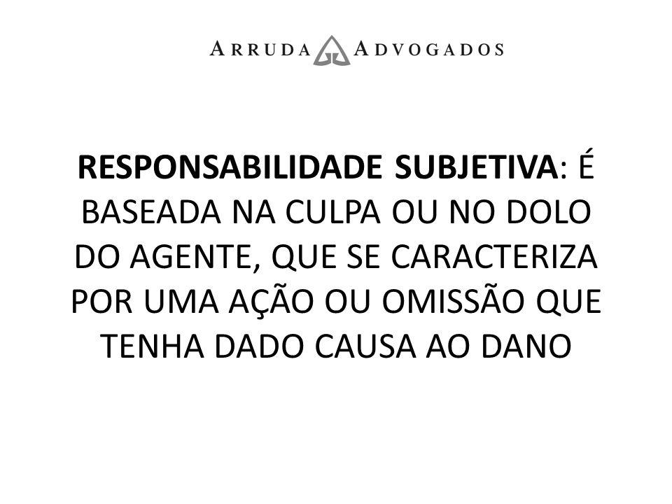CÓDIGO CIVIL, ARTIGO 927: Aquele que, por ato ilícito (arts.