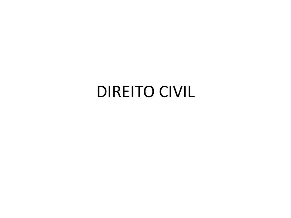 Conceito de direito civil Direito civil é o direito comum, que rege as relações entre os particulares.