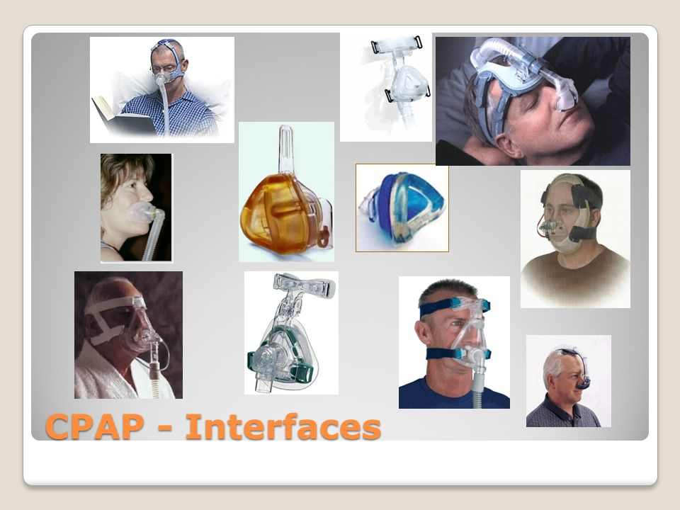 CPAP - Interfaces