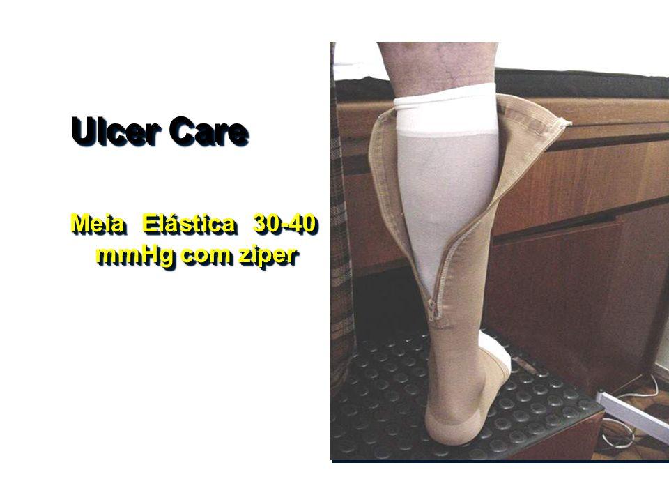 Ulcer Care Meia Elástica 30-40 mmHg com ziper Ulcer Care Meia Elástica 30-40 mmHg com ziper