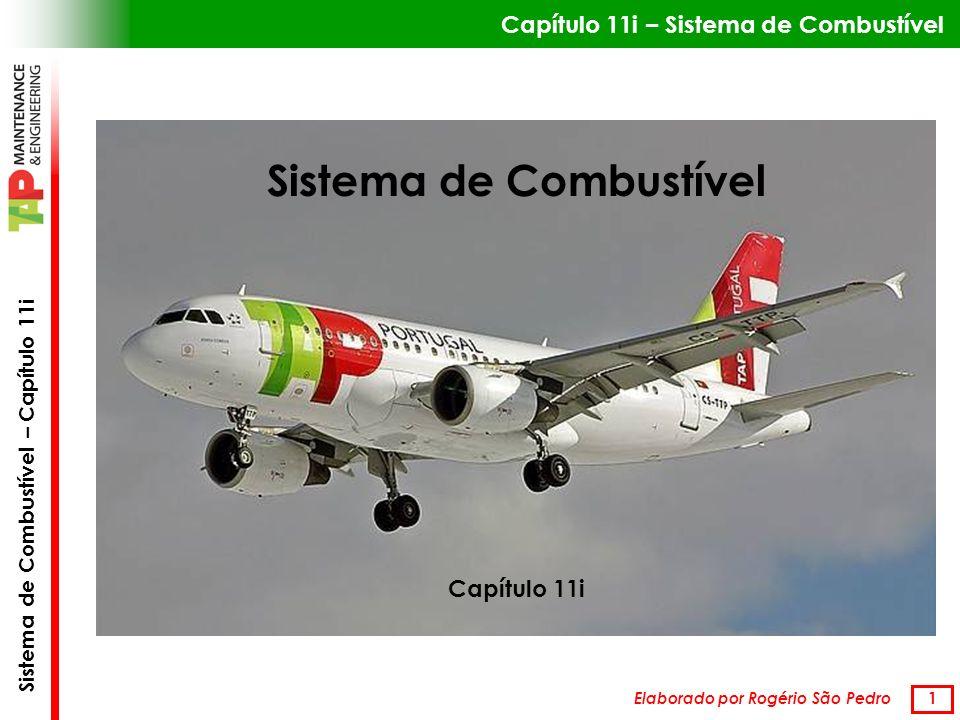 Sistema de Combustível – Capítulo 11i 22 Fluxómetro (Fuel Flowmeter) Um rotor imprime velocidade angular ao comb.
