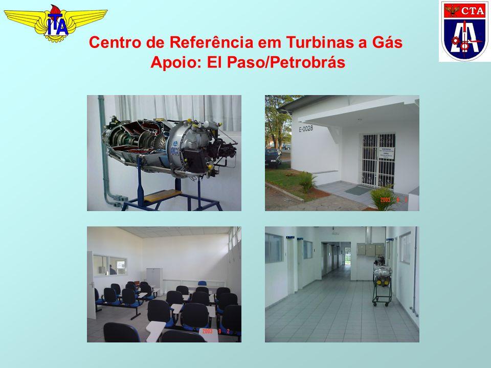 Centro de Referência em Turbinas a Gás Apoio: El Paso/Petrobrás