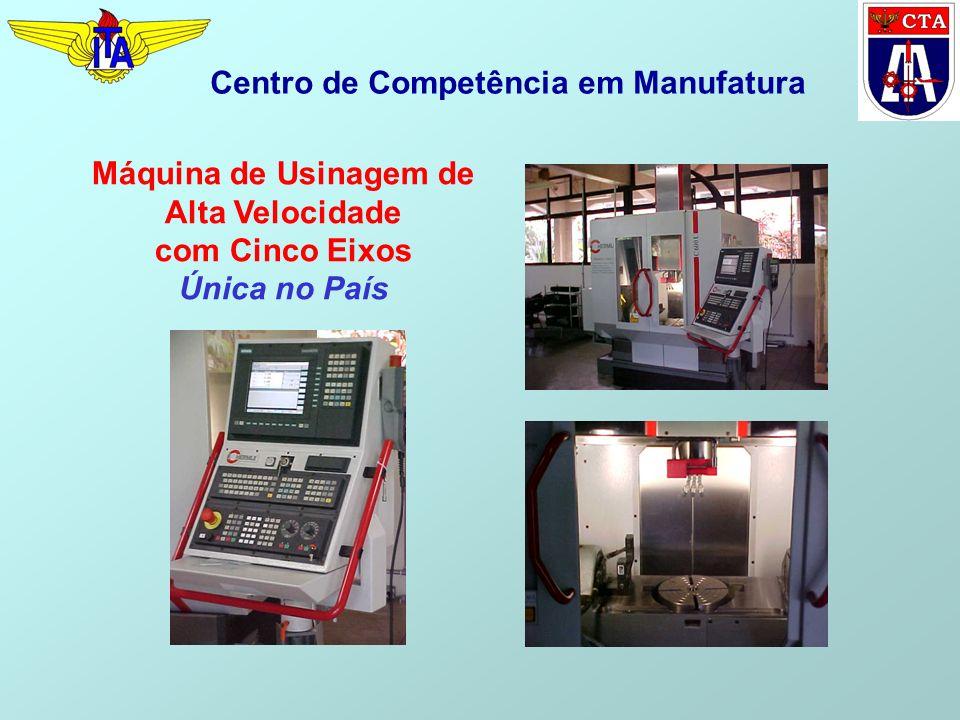 Máquina de Usinagem de Alta Velocidade com Cinco Eixos Única no País Centro de Competência em Manufatura
