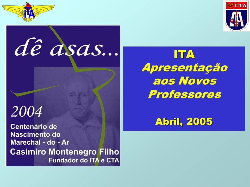 ITA Abril, 2005 ITA Apresentação aos Novos Professores Abril, 2005
