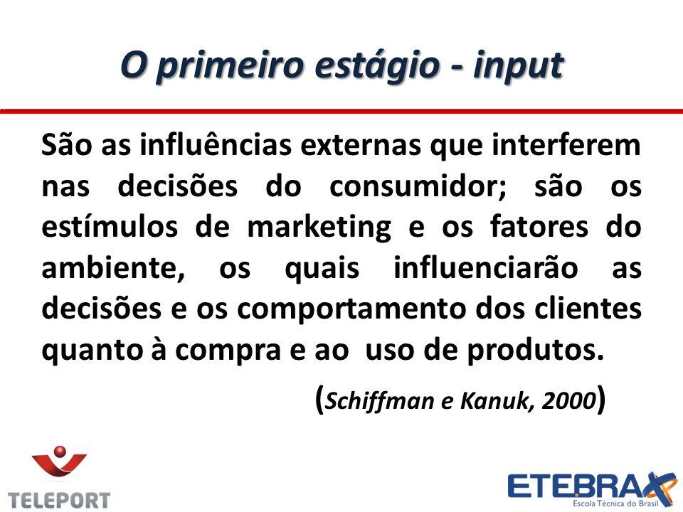 O segundo Estágio – Decisão (Processo) O segundo estágio é o da decisão de compra, que se refere à maneira como os consumidores tomam suas decisões e fazem suas escolhas de compra, a partir dos estímulos recebidos na etapa anterior.