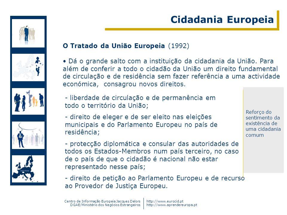 Centro de Informação Europeia Jacques Delors DGAE/Ministério dos Negócios Estrangeiros http://www.eurocid.pt http://www.aprendereuropa.pt - liberdade