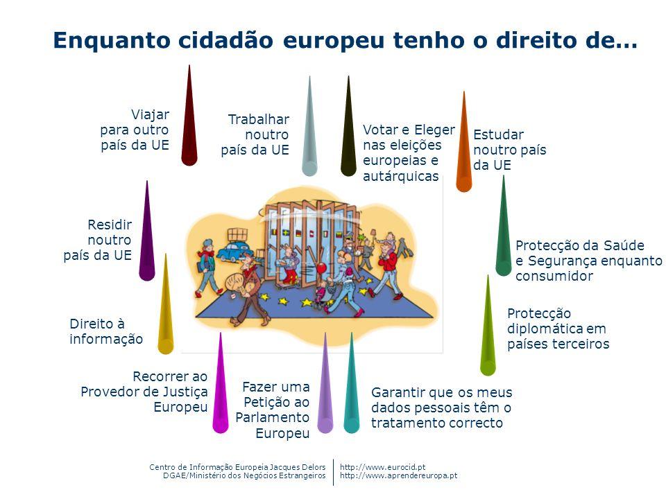 Centro de Informação Europeia Jacques Delors DGAE/Ministério dos Negócios Estrangeiros http://www.eurocid.pt http://www.aprendereuropa.pt Estudar nout
