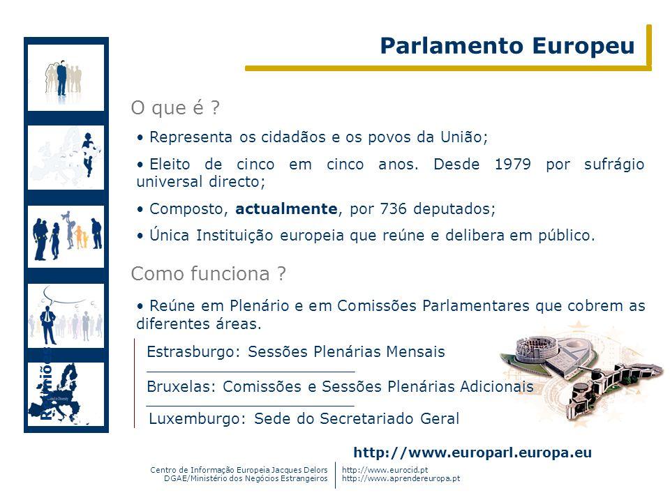 Centro de Informação Europeia Jacques Delors DGAE/Ministério dos Negócios Estrangeiros http://www.eurocid.pt http://www.aprendereuropa.pt Representa o