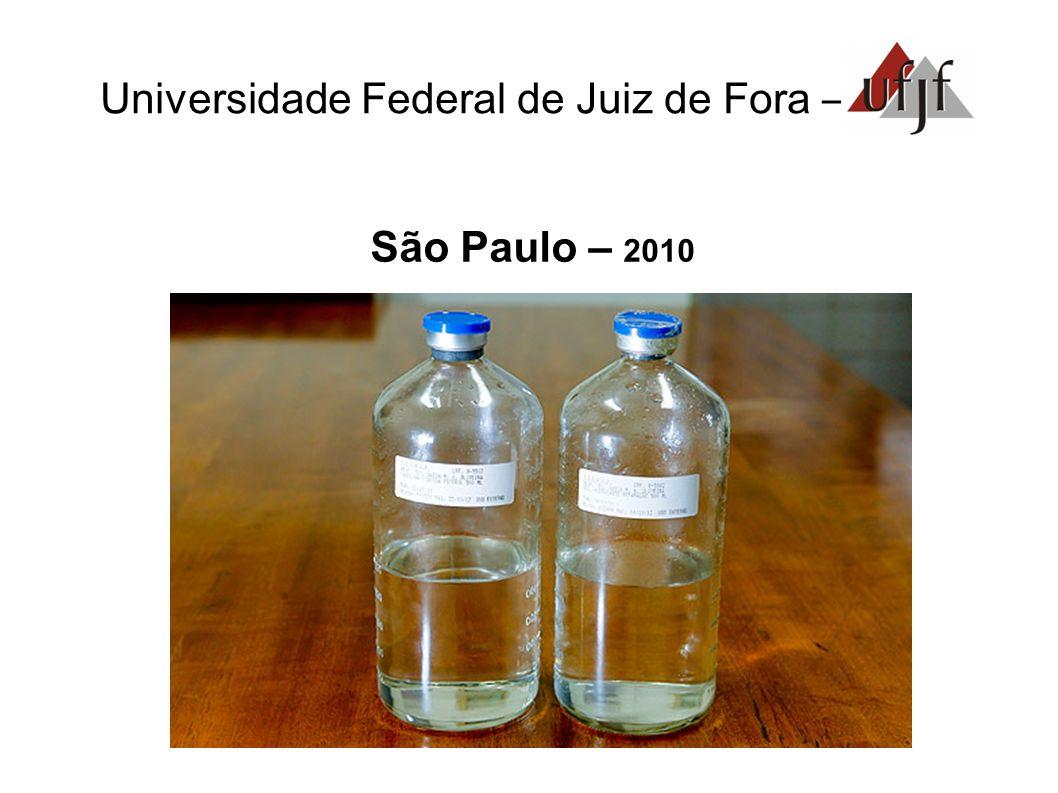 Universidade Federal de Juiz de Fora – São Paulo – 2010