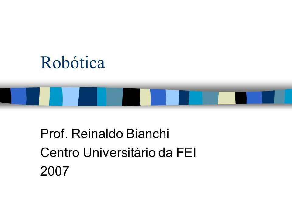 Robôs Móveis Autônomos Para responder as 3 perguntas o robô deve: –Ter um modelo do ambiente (fornecido ou construído autonomamente).