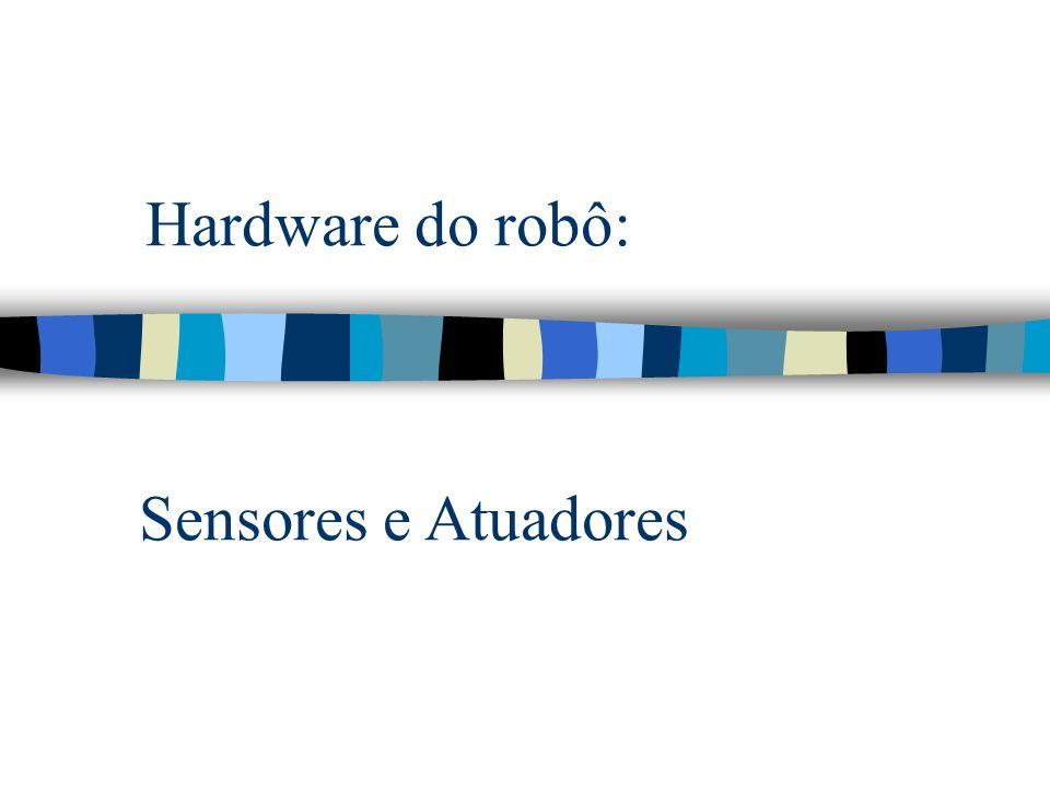 Hardware do robô: Sensores e Atuadores