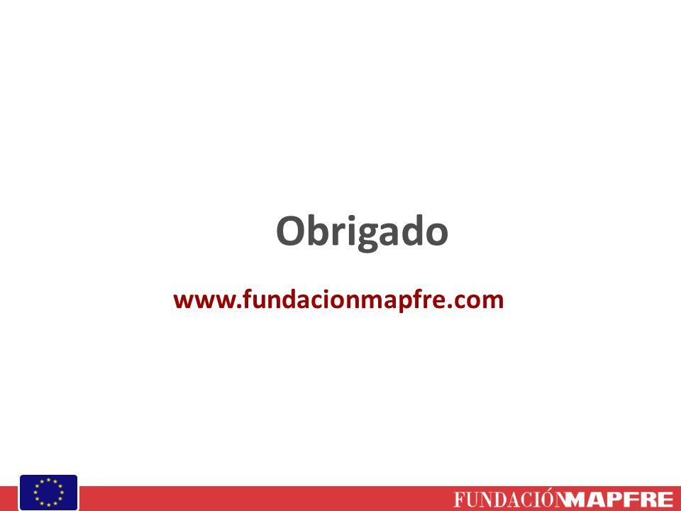 Obrigado www.fundacionmapfre.com