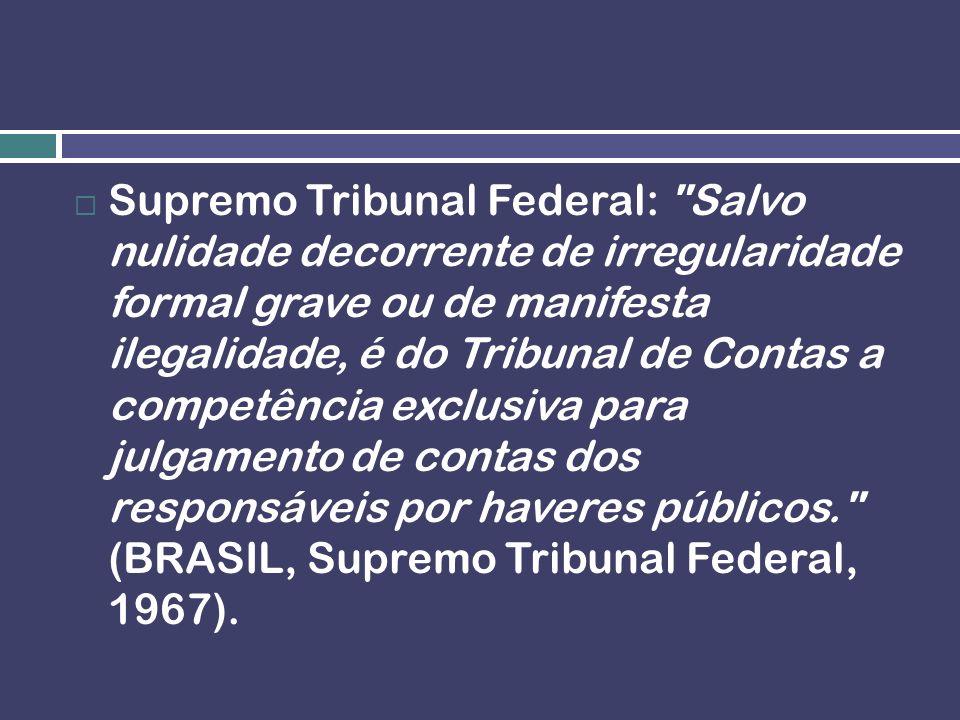 Efeito vinculante: O TSE decidiu que as decisões do TCU não são dotadas de efeito vinculante da Administração Pública.