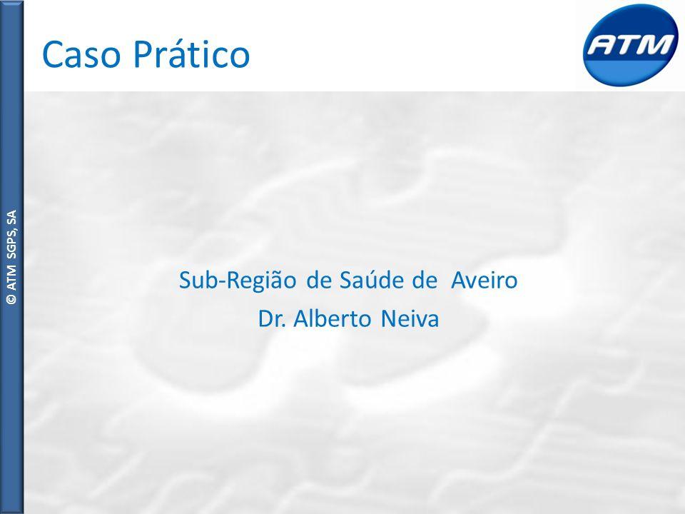 © ATM SGPS, SA Caso Prático Sub-Região de Saúde de Aveiro Dr. Alberto Neiva
