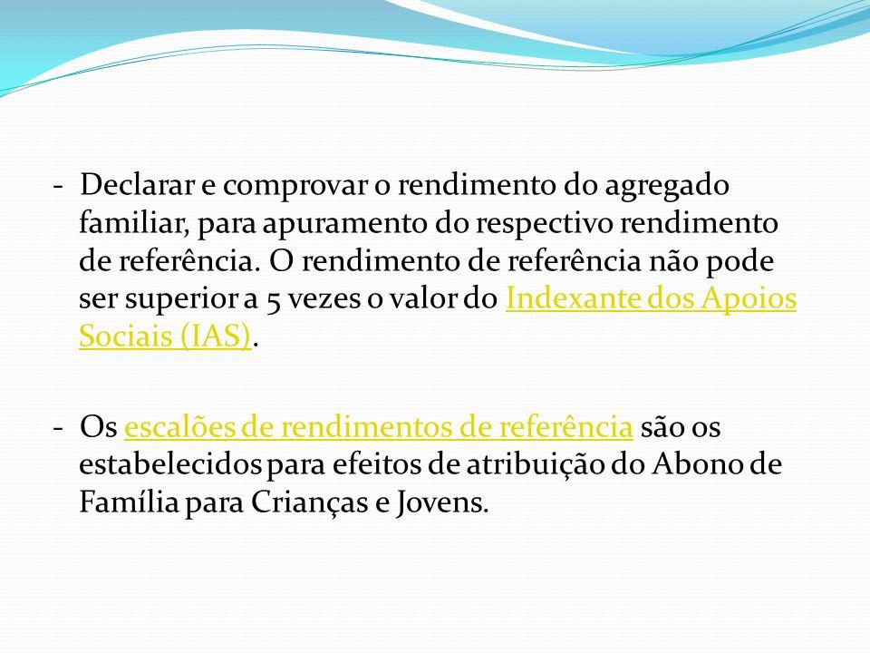 b.1) MAJORAÇÃO DO ABONO DE FAMÍLIA O que é a majoração do Abono de Família para Crianças e Jovens.