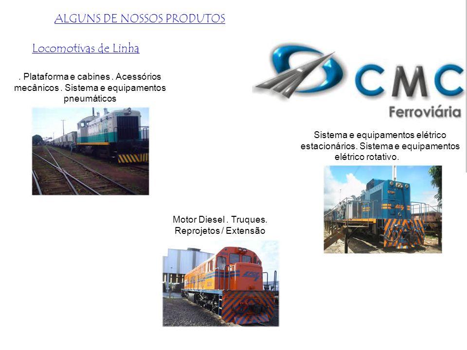 Atuamos na elaboração e implantação de projetos ferroviários para empresas de logística e armazéns. Projeto e Execução de Eletrificação de Guindastes