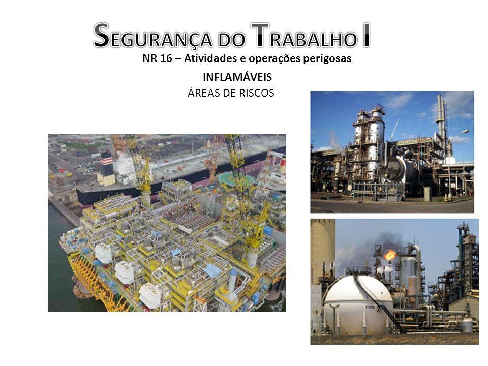 NR 16 – Atividades e operações perigosas INFLAMÁVEIS ÁREAS DE RISCOS
