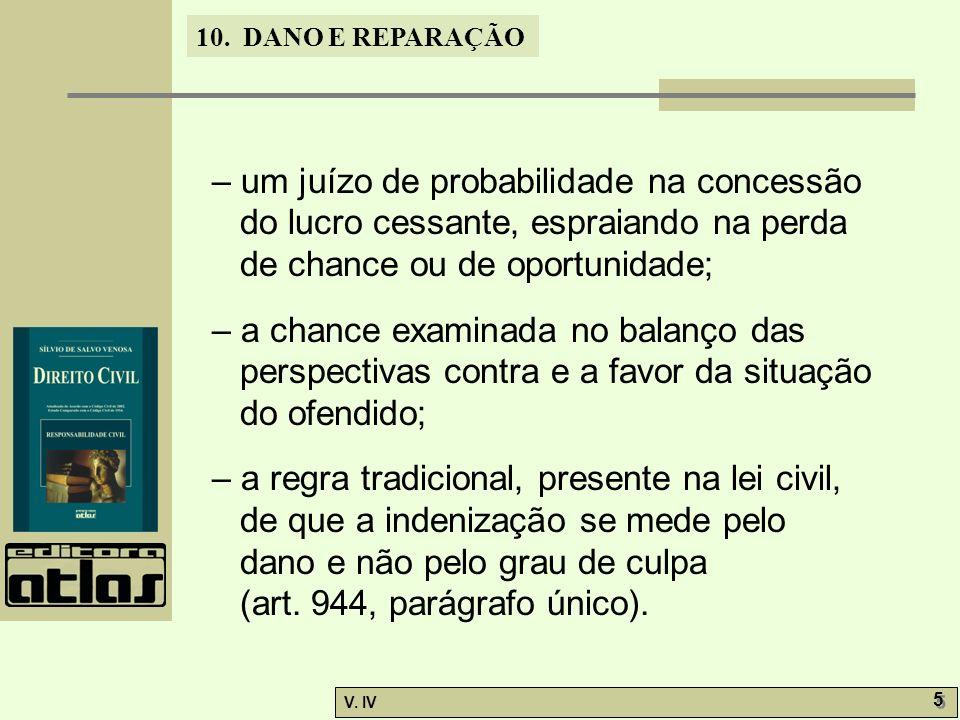 10.DANO E REPARAÇÃO V. IV 26 10.6.
