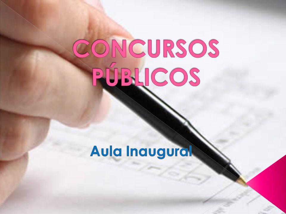 Concursos Onde encontrar EDITAIS de Concursos.