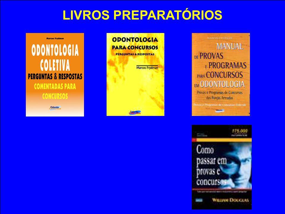 LIVROS PREPARATÓRIOS