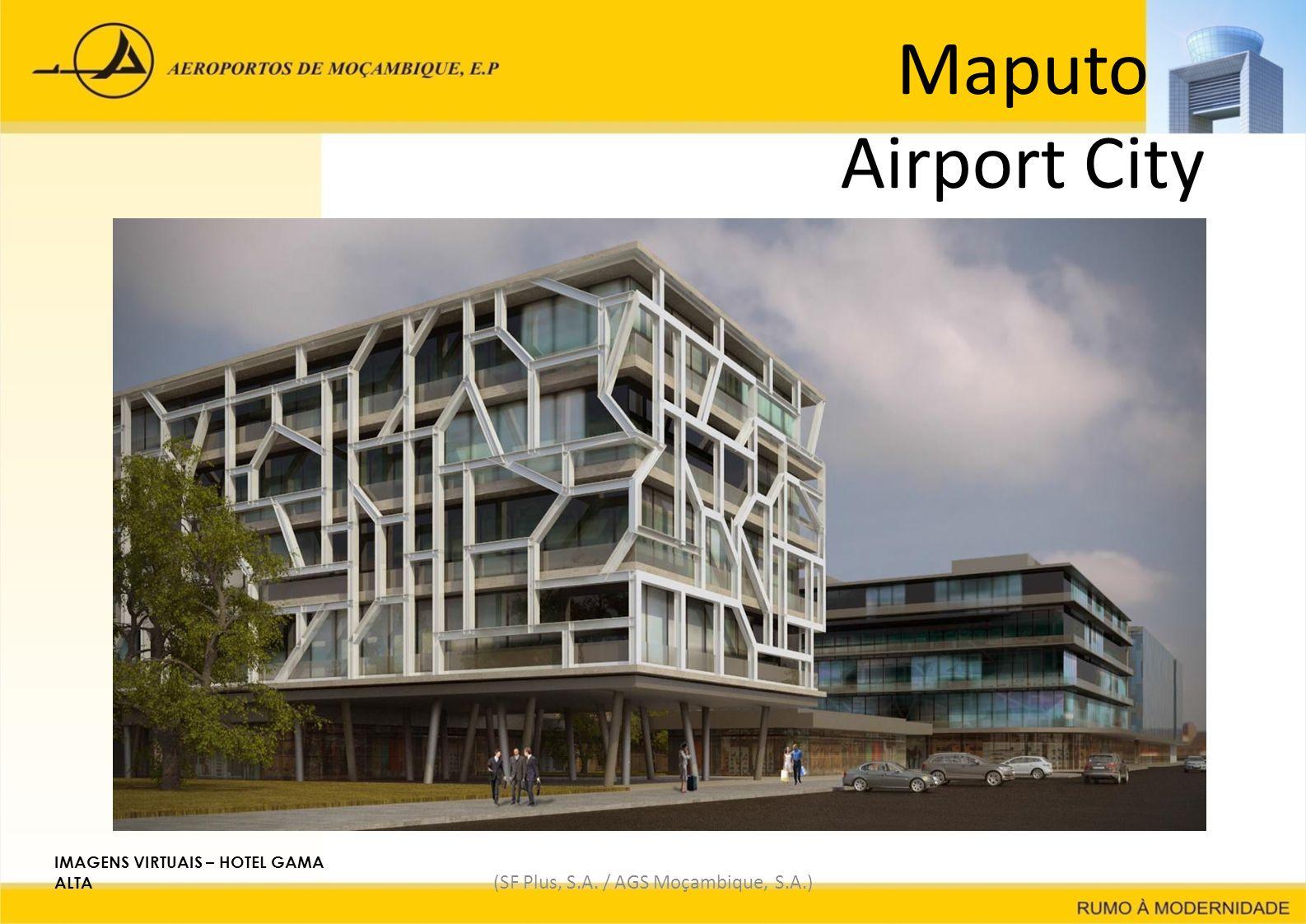 Maputo Airport City (SF Plus, S.A. / AGS Moçambique, S.A.) IMAGENS VIRTUAIS – HOTEL GAMA ALTA