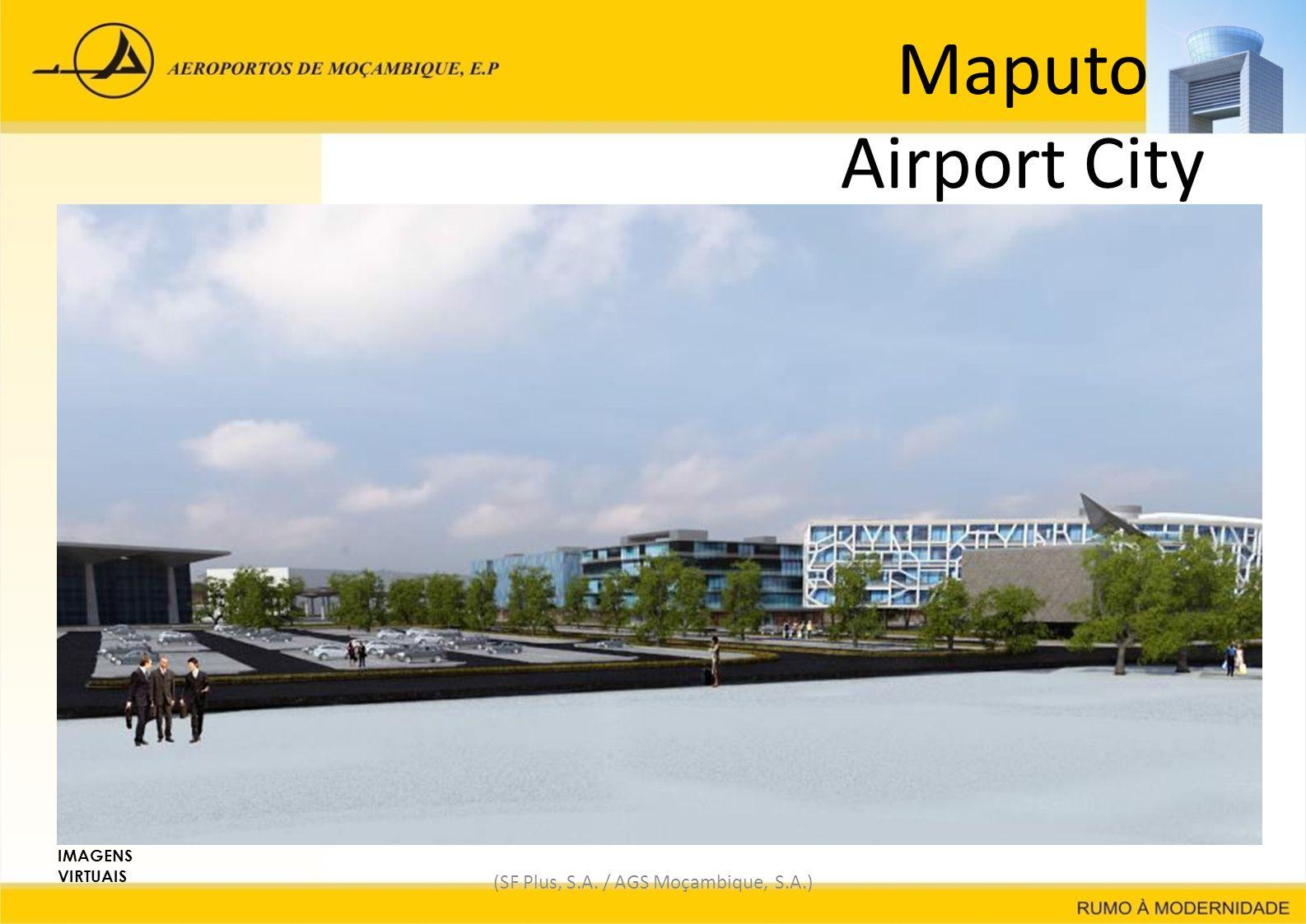 Maputo Airport City (SF Plus, S.A. / AGS Moçambique, S.A.) IMAGENS VIRTUAIS