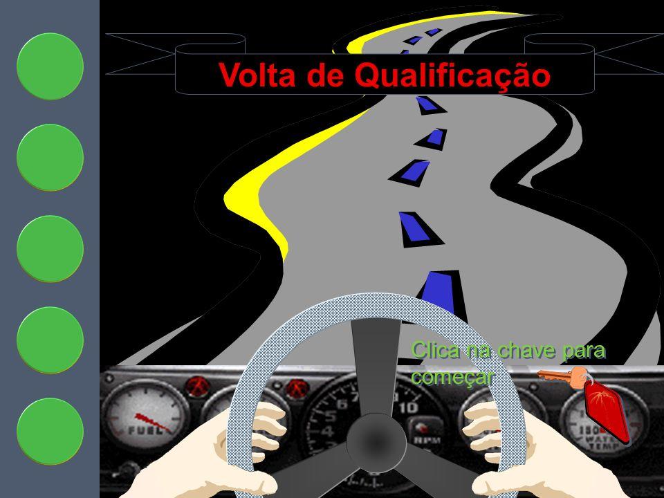 Qualifying Lap Volta de Qualificação Clica na chave para começar