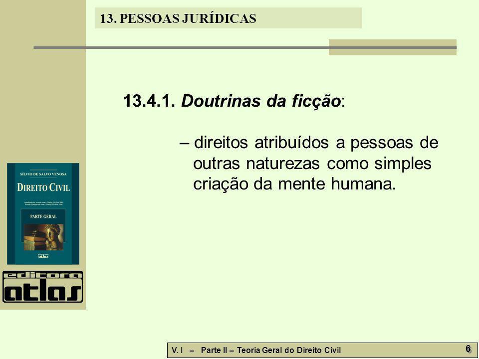 13.PESSOAS JURÍDICAS V.