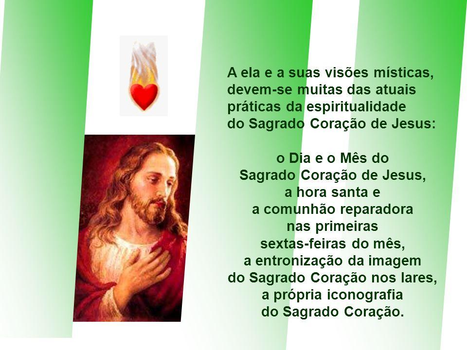 remonta aos Santos Padres, mas teve um grande impulso após as revelações do Sagrado Coração a Santa Margarida Maria Alacoque. No dia 16 de junho de 16