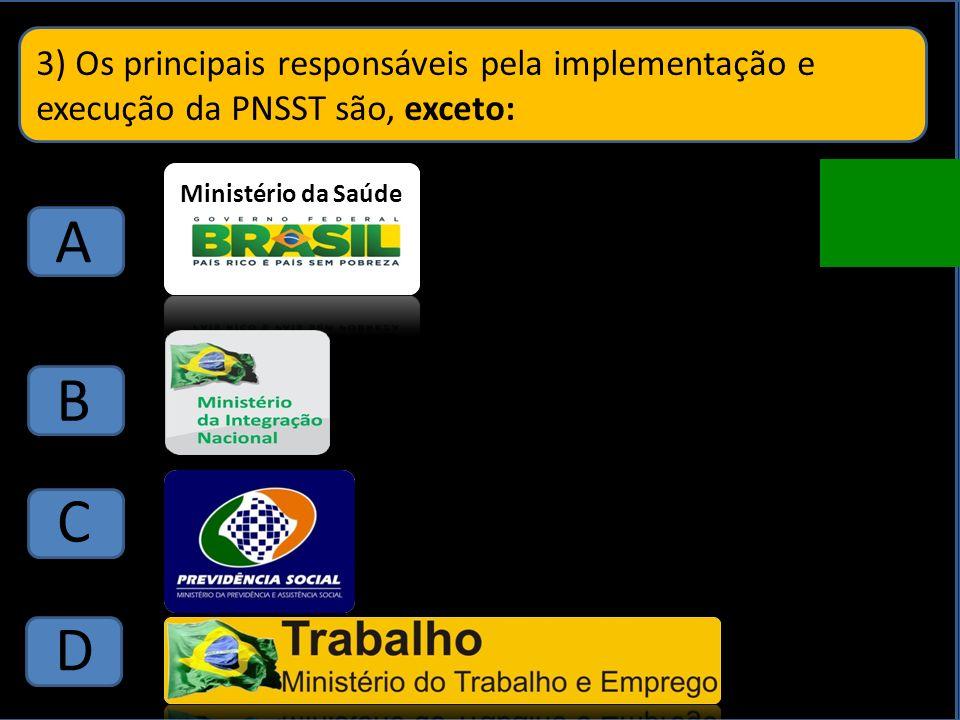 2) Promoção de agenda integrada de estudos e pesquisas em segurança e saúde no trabalho.