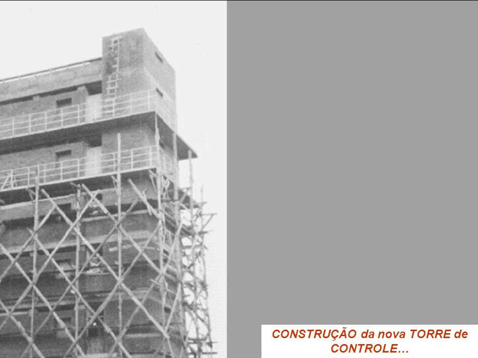 CONSTRUÇÃO da nova TORRE de CONTROLE…