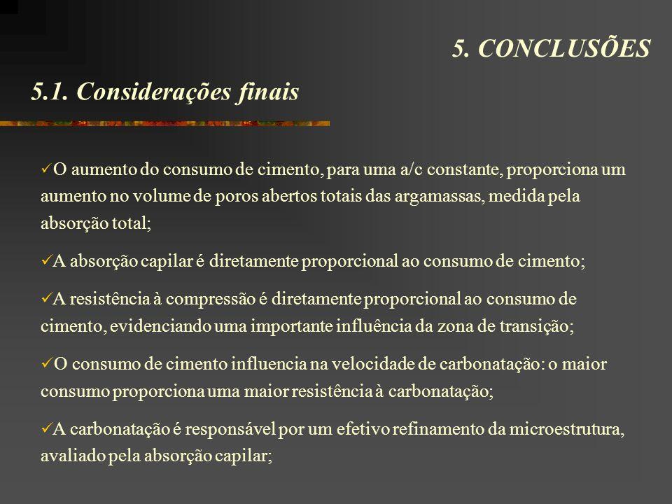 5.1.Considerações finais 5.