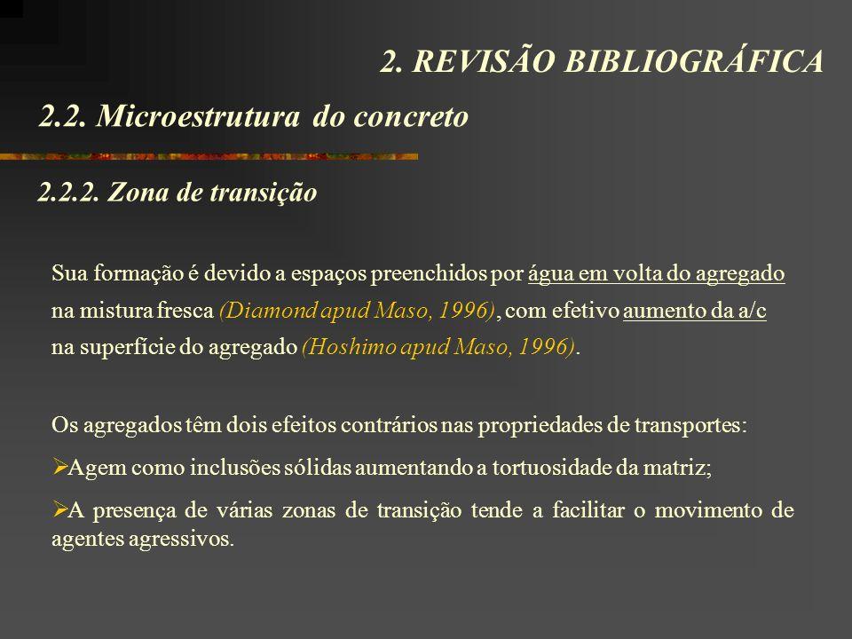 2.2.Microestrutura do concreto 2. REVISÃO BIBLIOGRÁFICA 2.2.2.