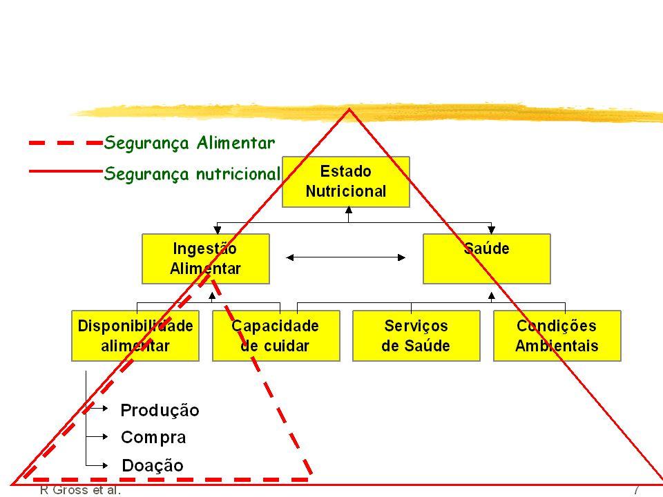 Marco Conceitual do Estado Nutricional no contexto da SAN