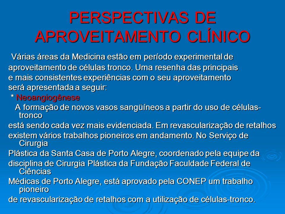 Cardiologia A equipe da UFRJ desenvolve, também, trabalhos A equipe da UFRJ desenvolve, também, trabalhos na linha de tratamento de cardiopatias, em parceria com o Hospital Pró-cardíaco, no Rio de Janeiro.