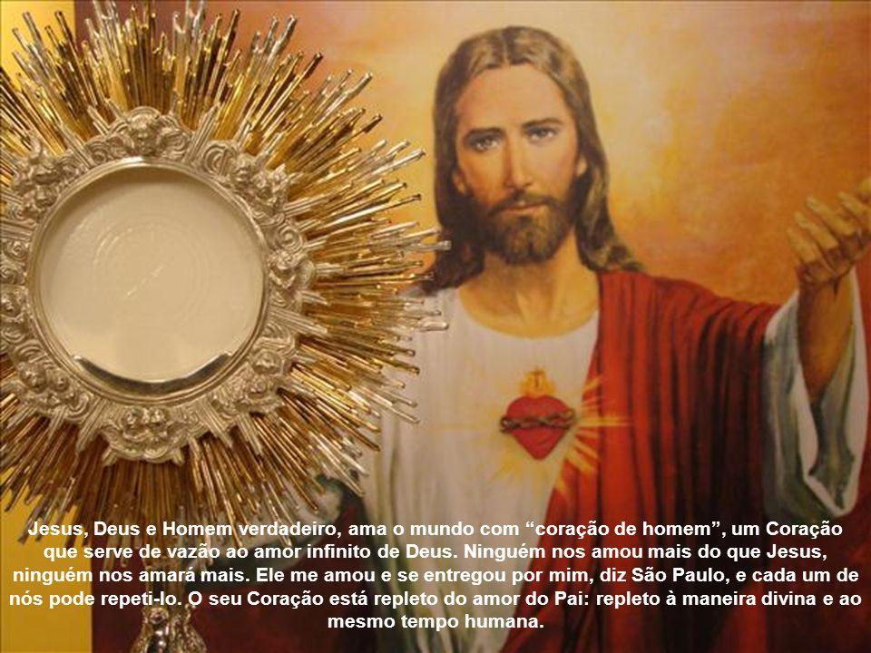O Coração de Jesus é fonte e expressão do seu infinito amor por cada homem, seja qual for a sua situação: Eu mesmo – diz um belíssimo texto do profeta