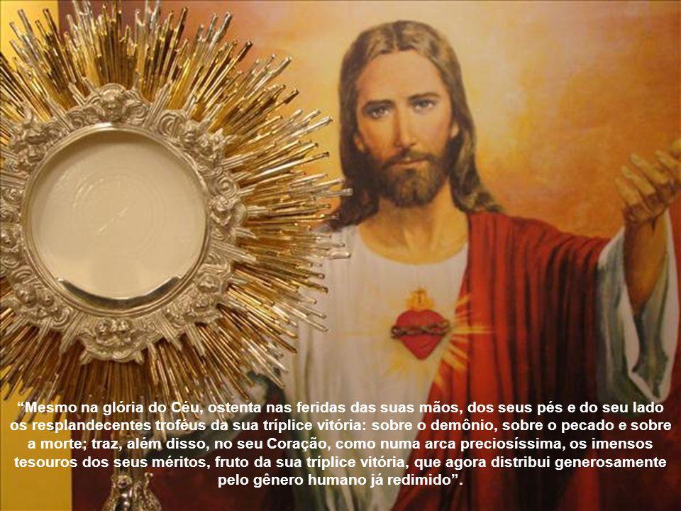 Antes de celebrar a Última Ceia, ao pensar que ficaria para sempre conosco mediante a instituição da Eucaristia, manifestou aos seus mais íntimos: Des