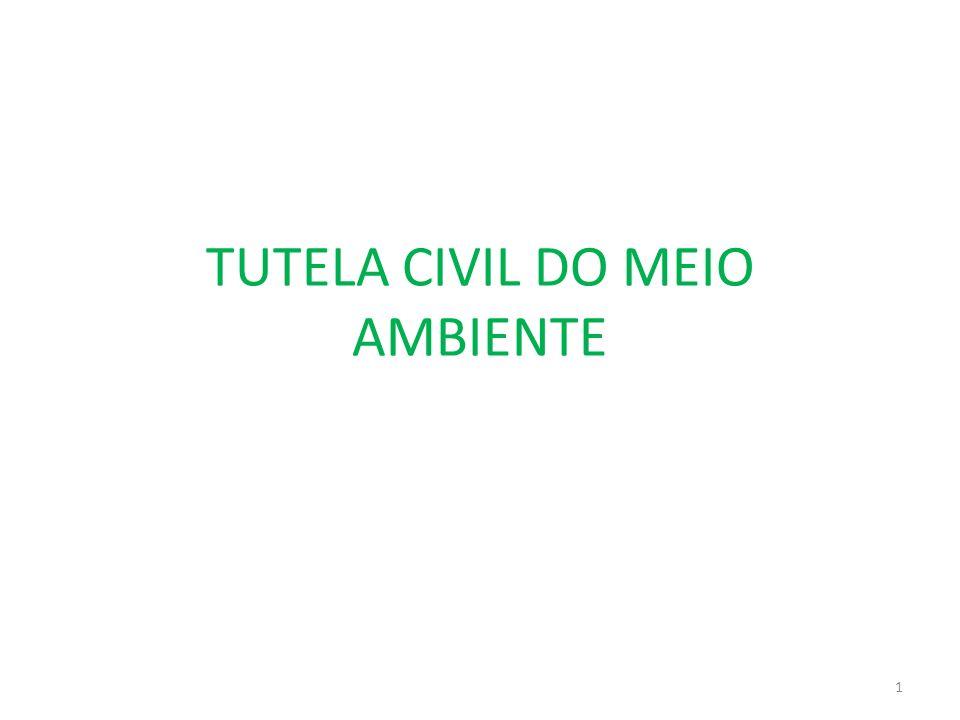 TUTELA CIVIL DO MEIO AMBIENTE 1