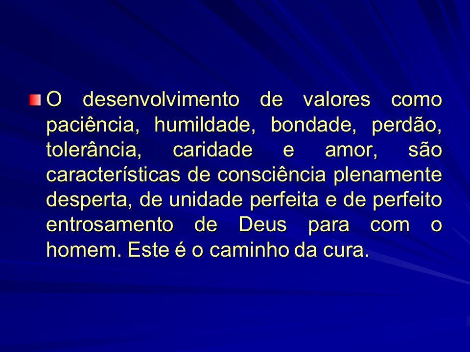 A cura acontece através da incorporação daquilo que está faltando e, portanto, ela não é possível sem uma expansão da consciência.