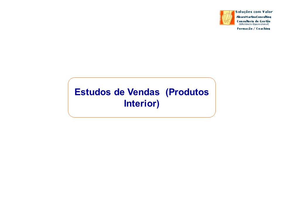 Estudos de Vendas (Produtos Interior)