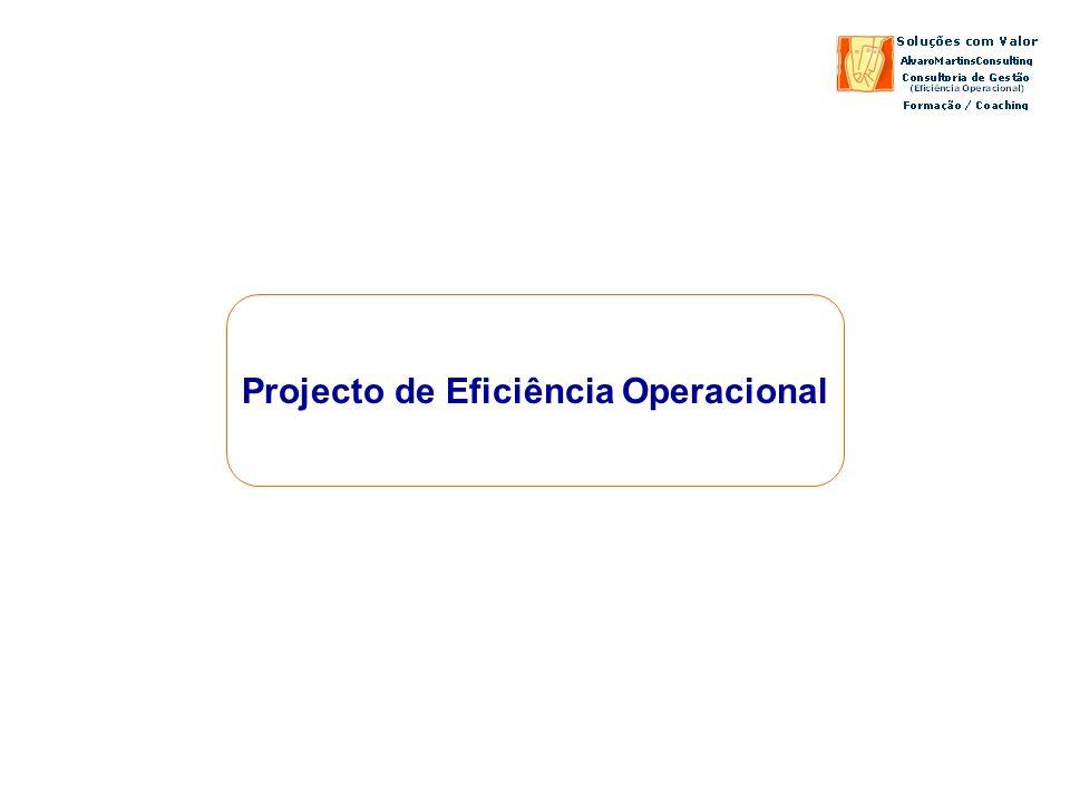 Projecto de Eficiência Operacional