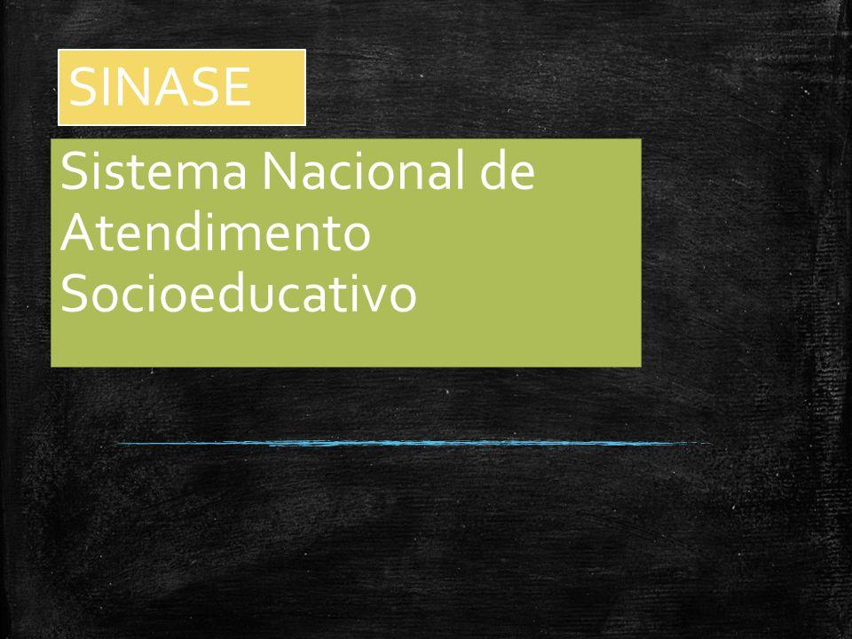 SINASE Sistema Nacional de Atendimento Socioeducativo