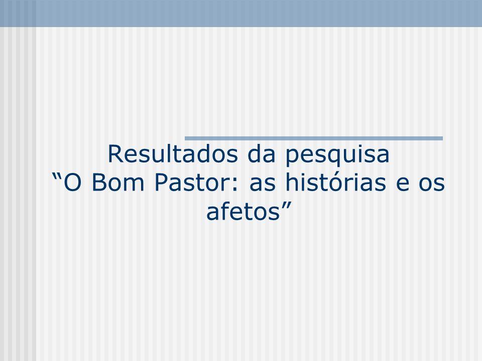 Resultados da pesquisaO Bom Pastor: as histórias e os afetos