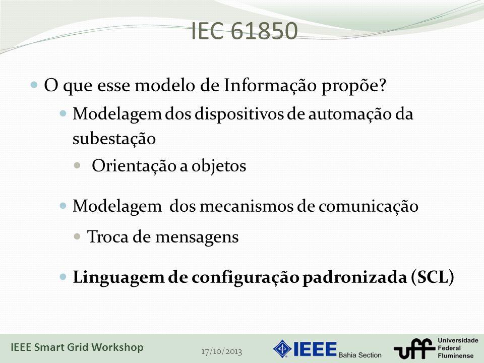IEC 61850 O que esse modelo de Informação propõe.