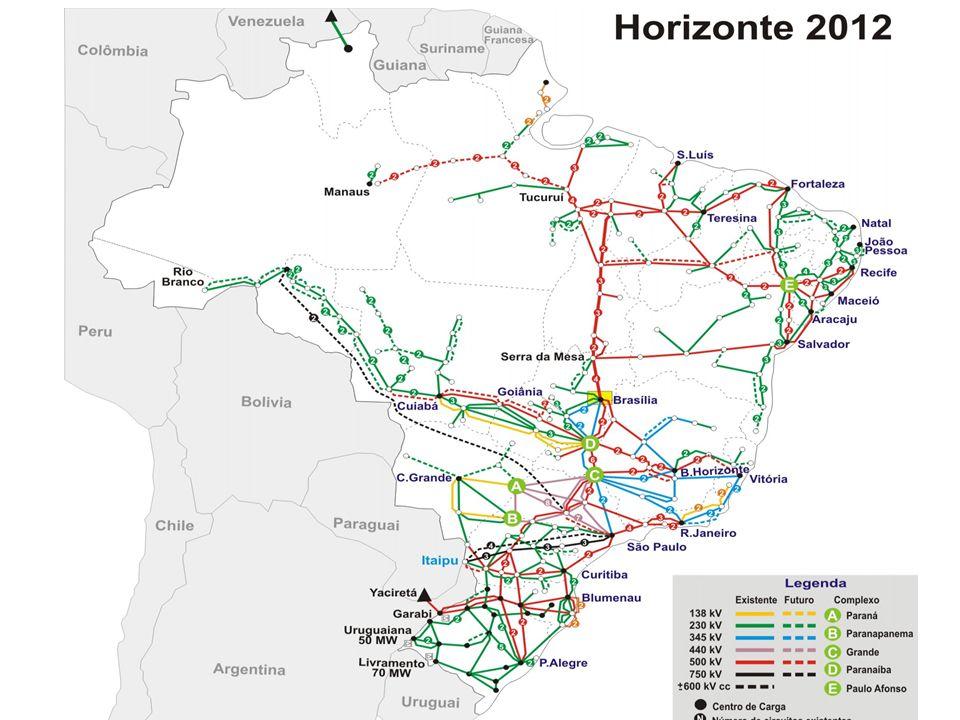 Rede Brasileira Grande e complexo sistema de subestações e linhas de transmissão 17/10/2013 IEEE Smart Grid Workshop
