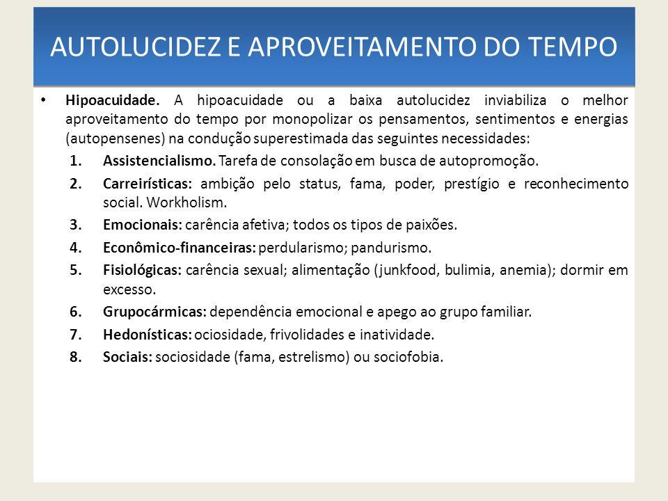 APROVEITAMENTO DO TEMPO Proéxis.