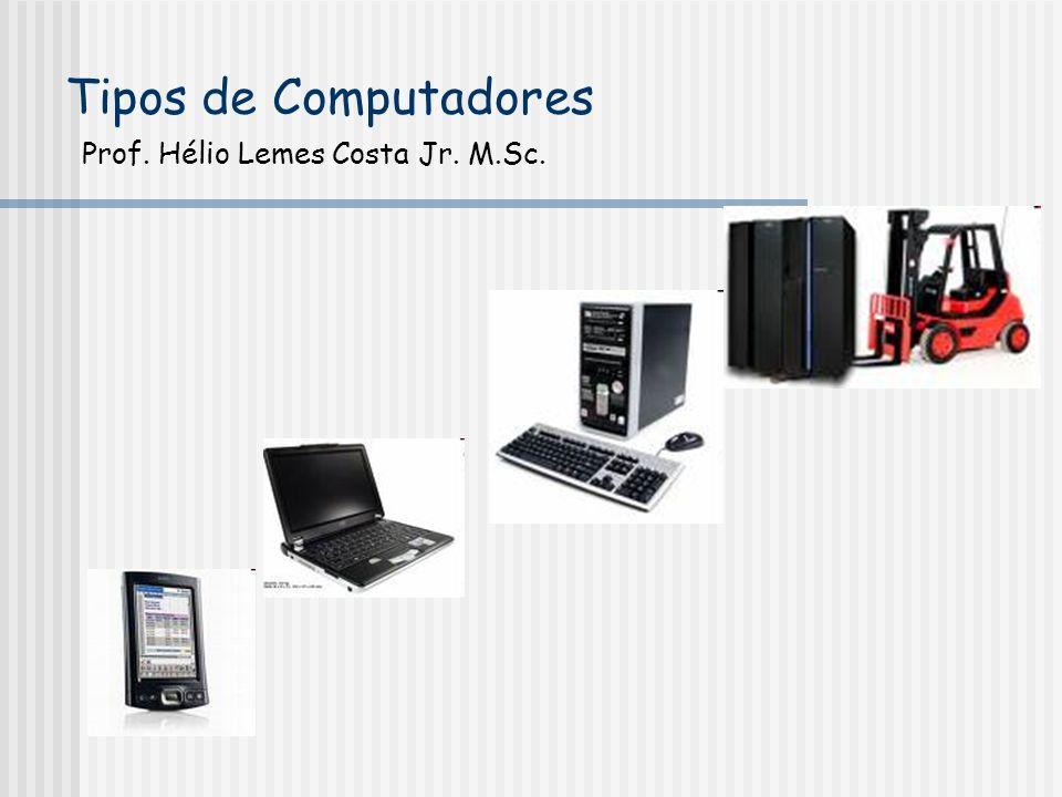Tipos de Computadores Prof. Hélio Lemes Costa Jr. M.Sc.