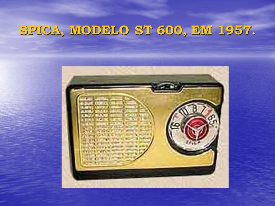 SPICA, MODELO ST 600, EM 1957.